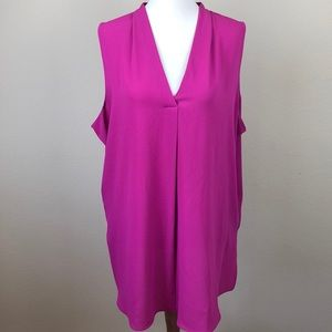 Worthington Sleeveless V-Neck Blouse/Tunic - XL